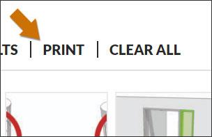 Print Saved Search