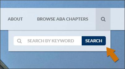 Search box open